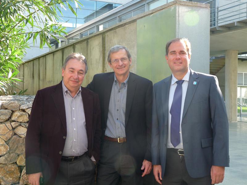 Prof. Miquel Pericàs, Prof. Richard Schrock and Prof. Killian Muñiz