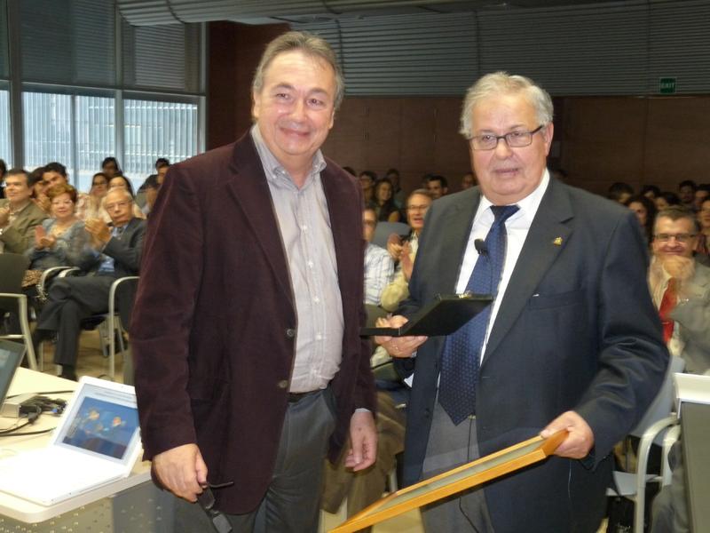 Prof. Miquel Pericàs and Prof. José Barluenga