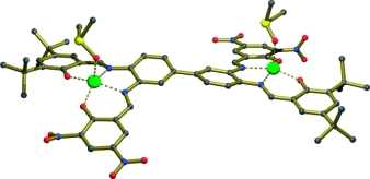 A modular approach towards nonsymmetrical bis(metallosalen) building blocks