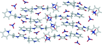 Crystallographic and theoretical evidence of anion–pi and hydrogen-bonding interactions in a squaramide-nitrate salt