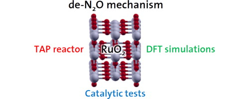 Mechanistic analysis of direct N2O decomposition and reduction with H2 or NH3 over RuO2