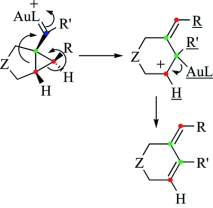 "On the mechanism of the puzzling ""endocyclic"" skeletal rearrangement of 1,6-enynes"