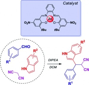 Zn-mediated synthesis of 3-substituted indoles using a three-component reaction approach
