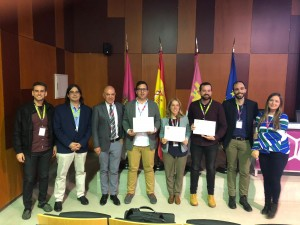 Winners of the Reaxys-RSEQ Early Career Researcher Award and members of the committee.