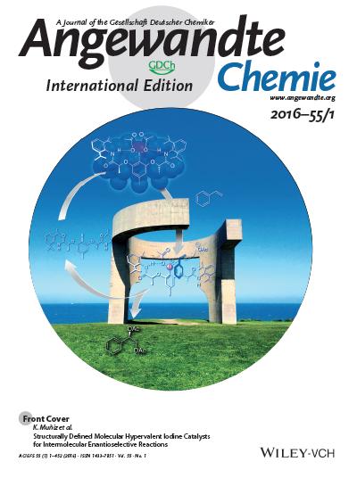 Angew. Chem. Int. Ed. 2016, 55, 413. DOI: 10.1002/anie.201507180