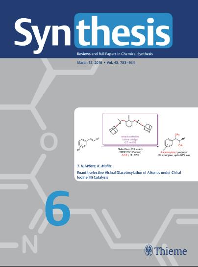 Synthesis 2016, 48, 816. DOI: 10.1055/s-0035-1561313