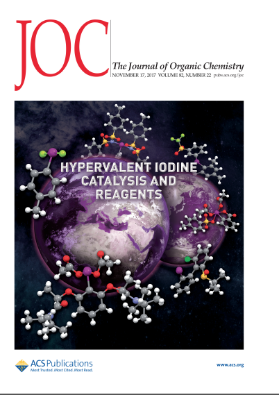 J. Org. Chem., 2017, 82 (22), pp 11667–11668. DOI: 10.1021/acs.joc.7b02531
