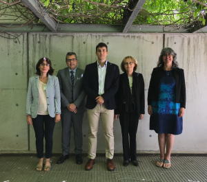 FOTO Dr. Carreras with the members of the examining committee and his supervisor, Anton Vidal.